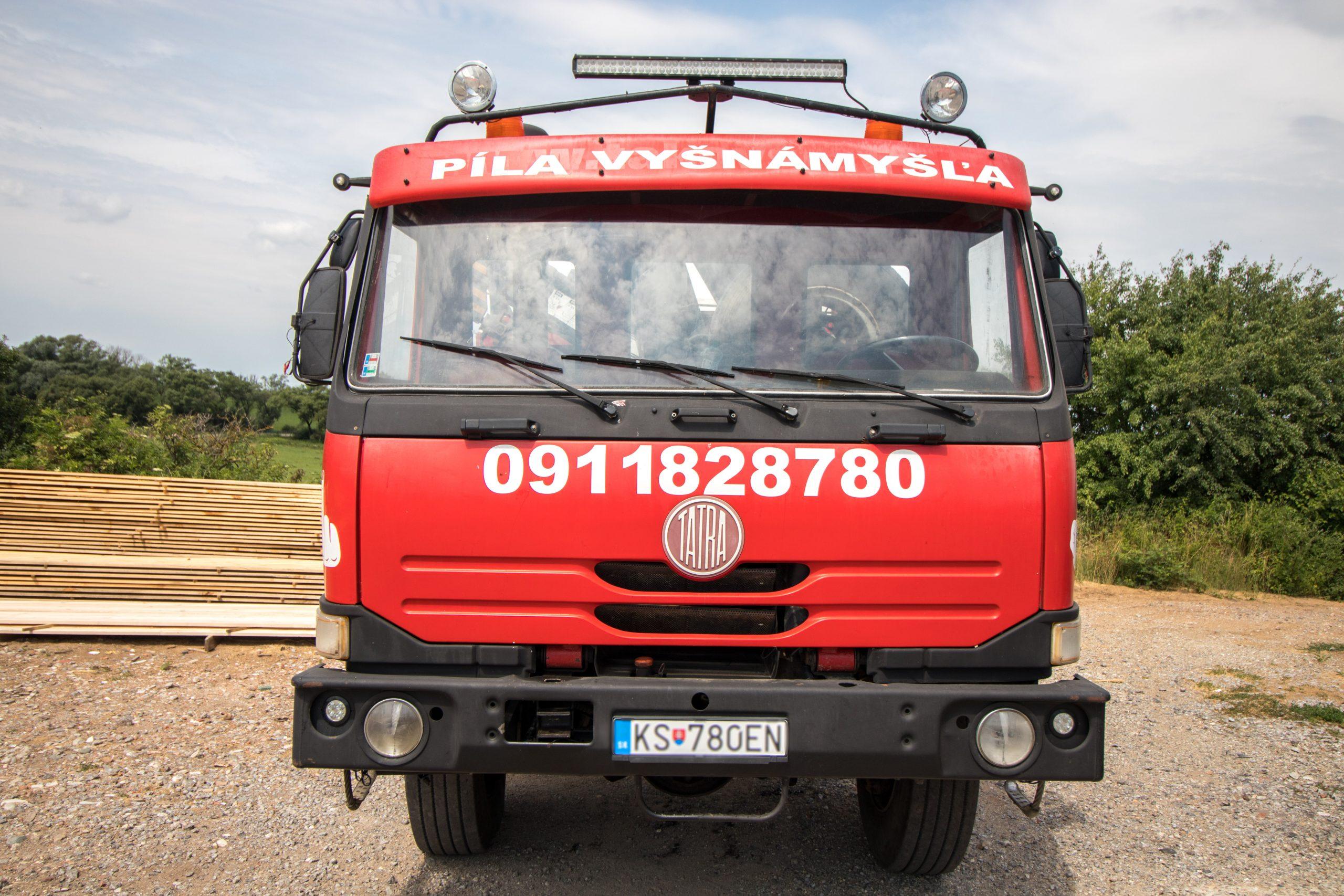 Stavebné sušené rezivo Košice
