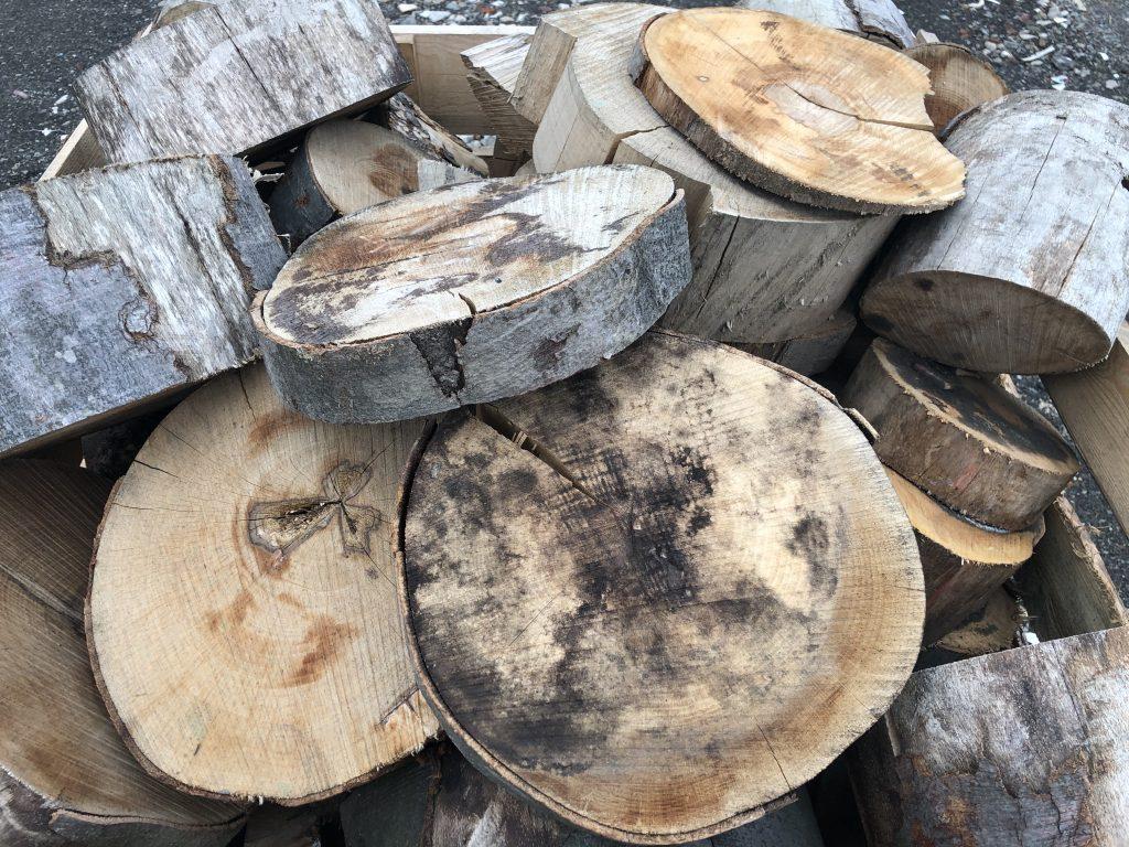 Drevné odrezky - palivové drevo